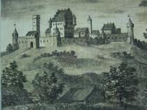 Burganlage Oberwittelsbach-Kupferstich