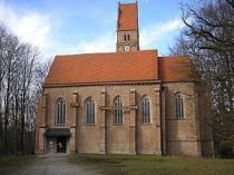 Die gotische Burgkirche auf der Kernburg