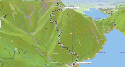 Tourverlauf - Track