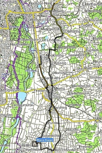 Lechrain-Route (Lechfeld)