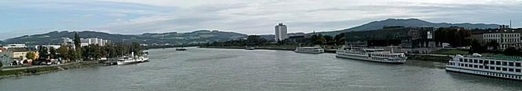 Donau in Linz