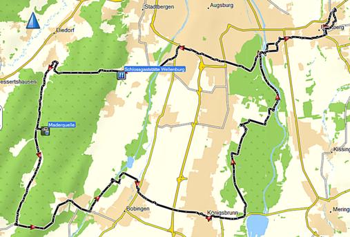 Anhauser Tal, Naturpark Westliche Wälder Augsburg