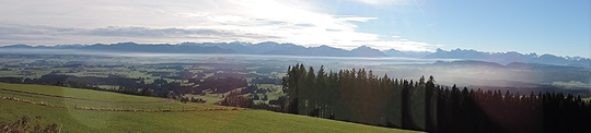 Panoramablick vom Auerberg