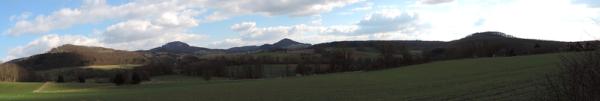 Panorama Milseburg