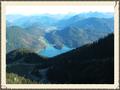 Blick auf Walchensee vom Herzogstand