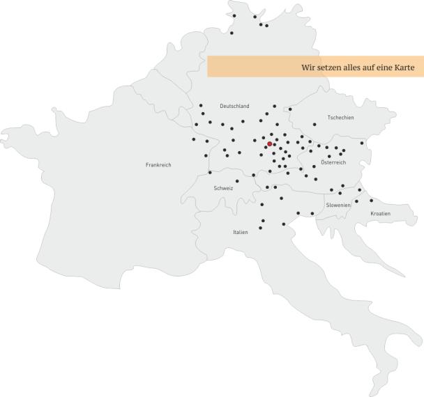 Übersichtskarte Europa