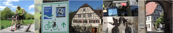 Bilder vom Kocher-Jagst-Radweg
