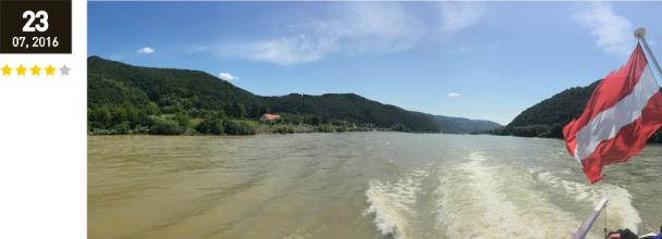 Mit dem Schiff durch die Wachau