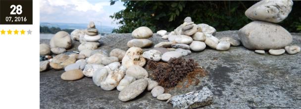 Steinskulpturen an der Donau
